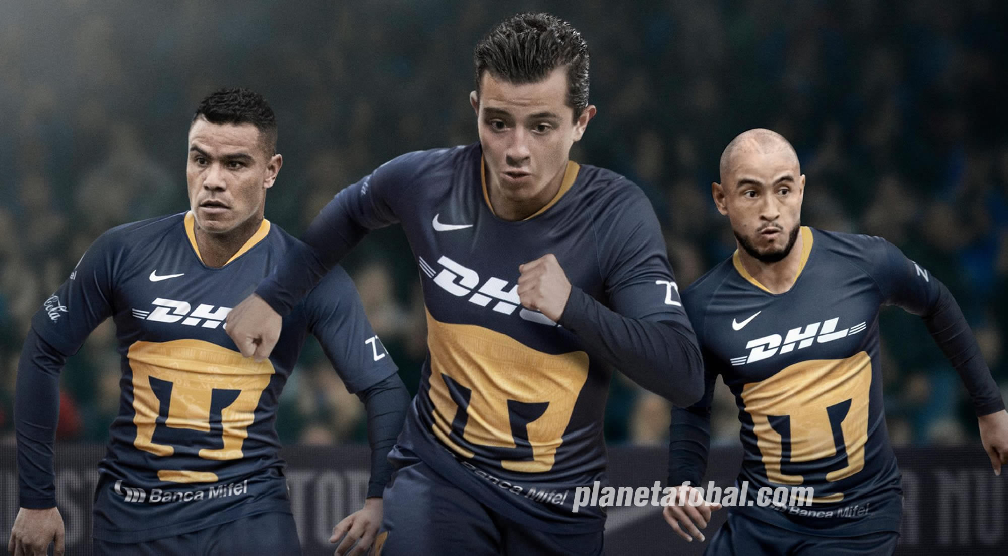 Tercera camiseta Nike de los Pumas de la UNAM 2019   Imagen Twitter Oficial