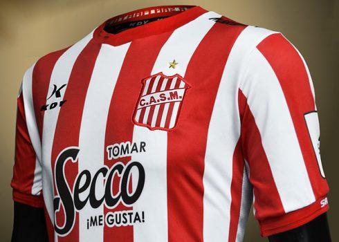 Camiseta titular 2019 de San Martín de Tucumán | Imagen KDY