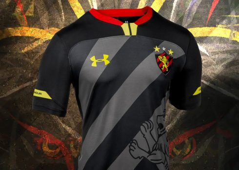 Tercera camiseta del Sport Recife 2019 | Imagen Under Armour