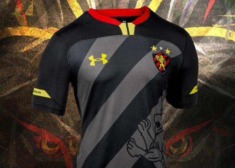 Tercera camiseta del Sport Recife 2019 | Imagen Under Armour