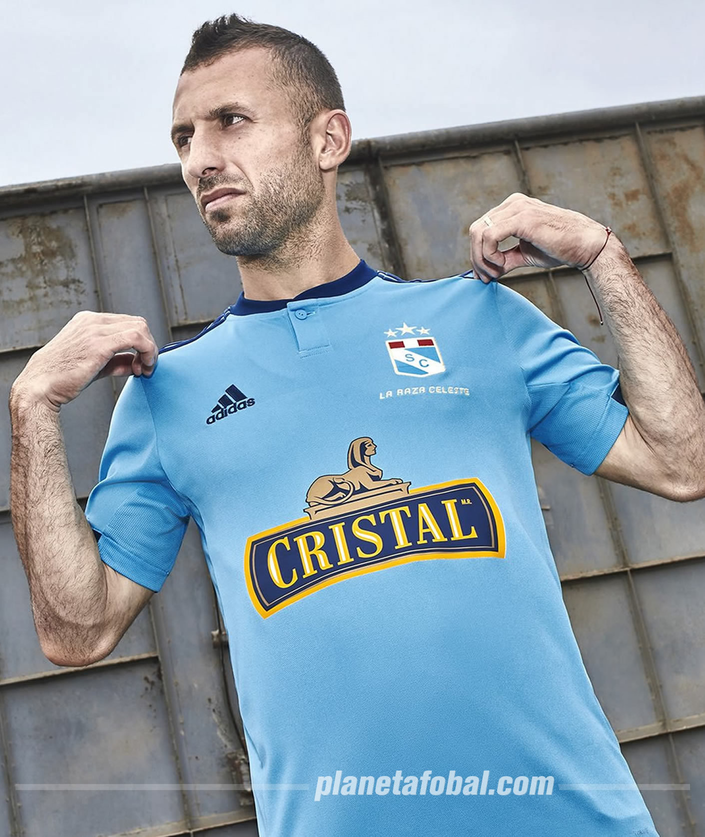 Camiseta titular Adidas del Sporting Cristal 2019 | Imagen Twitter Oficial