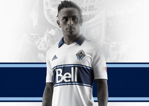 Camiseta titular Adidas del Vancouver Whitecaps MLS 2019 | Imagen Web Oficial
