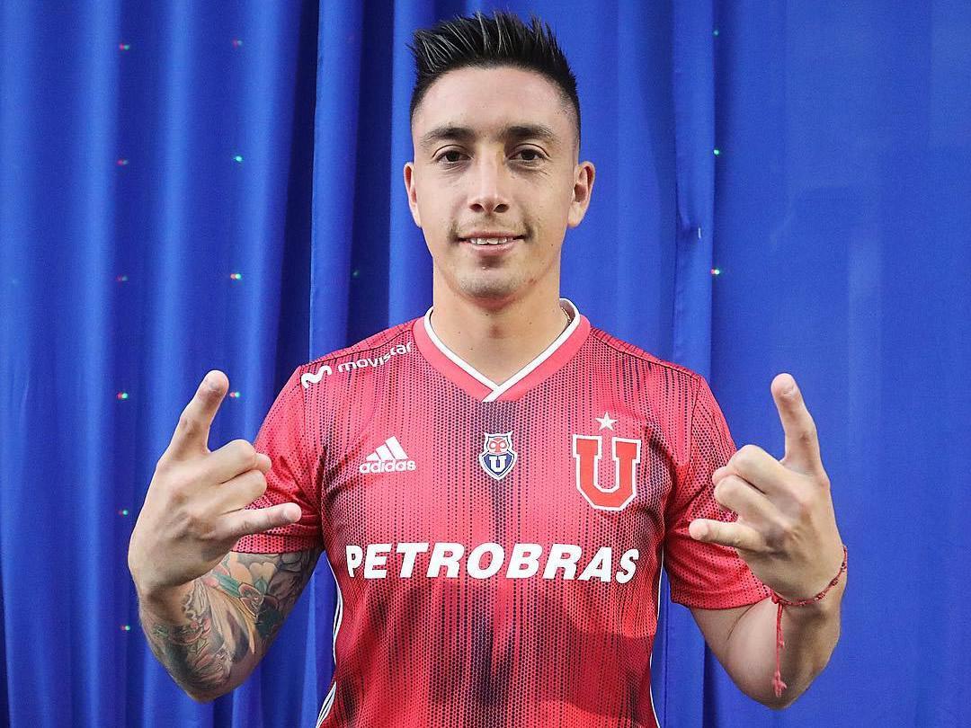 Camiseta suplente Adidas de la Universidad de Chile 2019 | Imagen Instagram Oficial