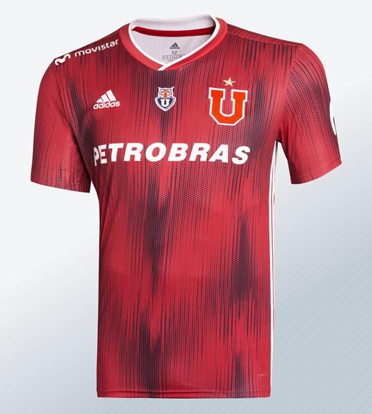 Camiseta suplente de la Universidad de Chile 2019 | Imagen Adidas