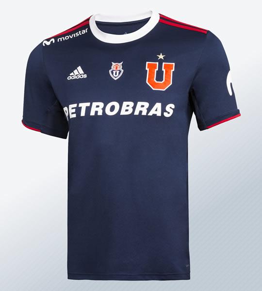 Camiseta titular de la Universidad de Chile 2019 | Imagen Adidas