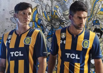 Camiseta titular Under Armour de Rosario Central 2019 | Imagen Twitter Oficial