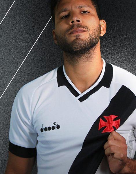 Camiseta suplente Diadora del Vasco Da Gama 2019/20 | Imagen Twitter Oficial