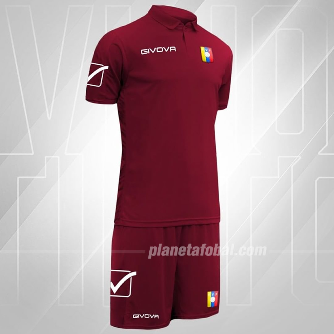 Camiseta titular Givova de Venezuela 2019/2020 | Imagen FVF