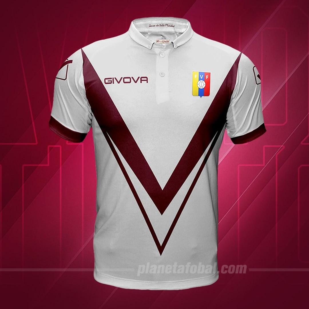 Camiseta suplente Givova de Venezuela 2019/20 | Imagen FVF