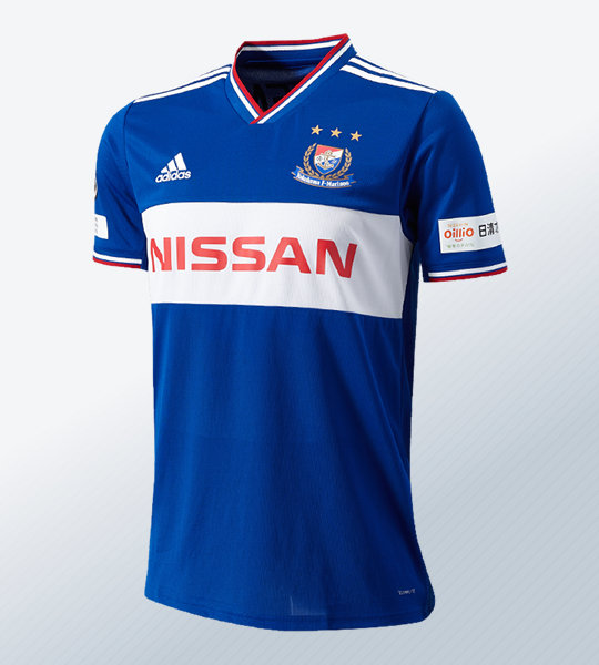 Camiseta titular Adidas del Yokohama F. Marinos 2019 | Imagen Web Oficial