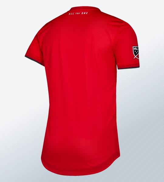Camiseta titular Adidas del Toronto FC 2019/20 | Imagen MLS