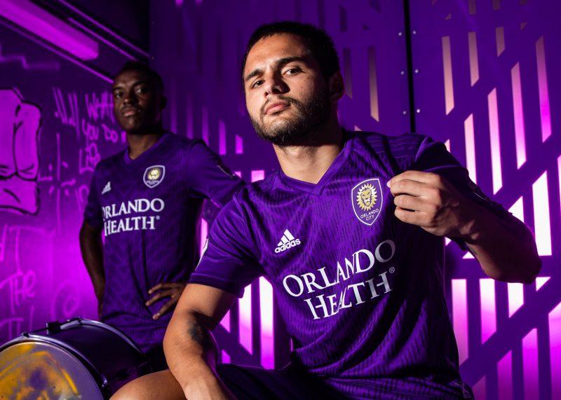 Camiseta titular Adidas del Orlando City 2019/20   Imagen Web Oficial