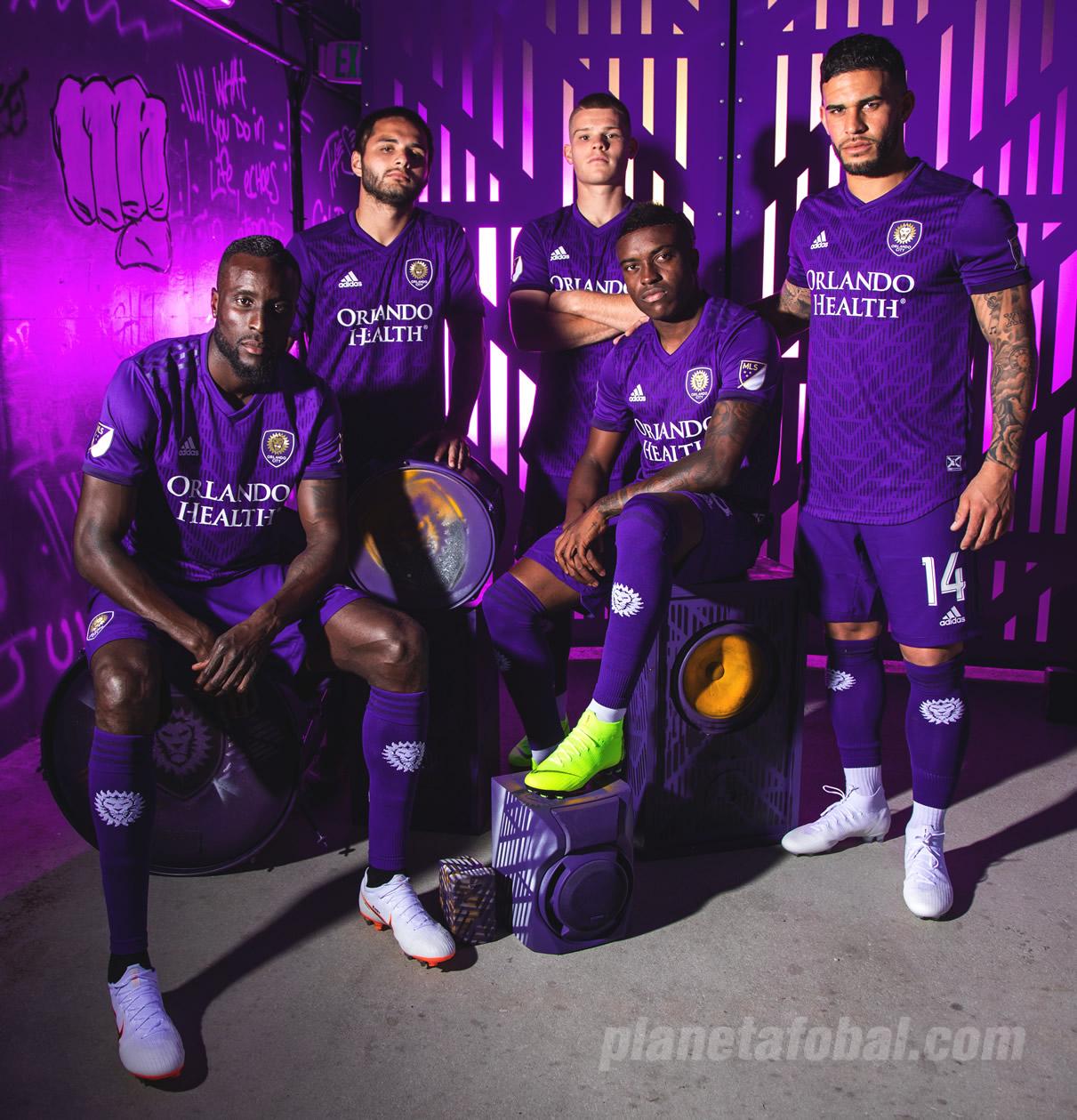 Camiseta titular Adidas del Orlando City 2019/20 | Imagen Web Oficial