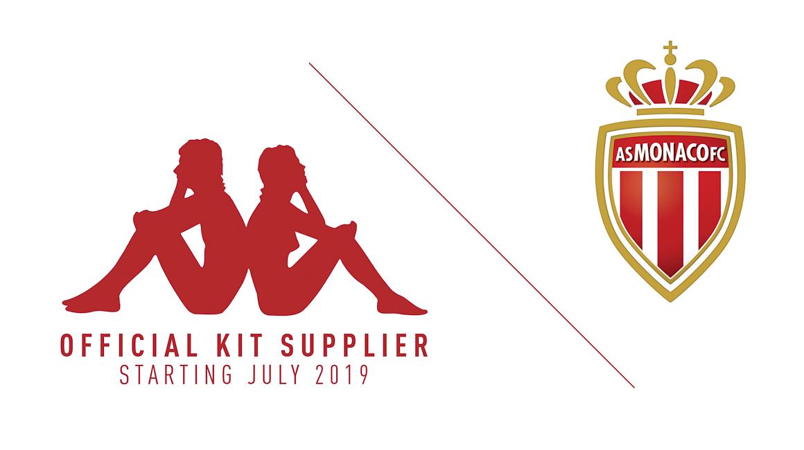 Kappa y el AS Mónaco anuncia contrato de indumentaria | Imagen Web Oficial