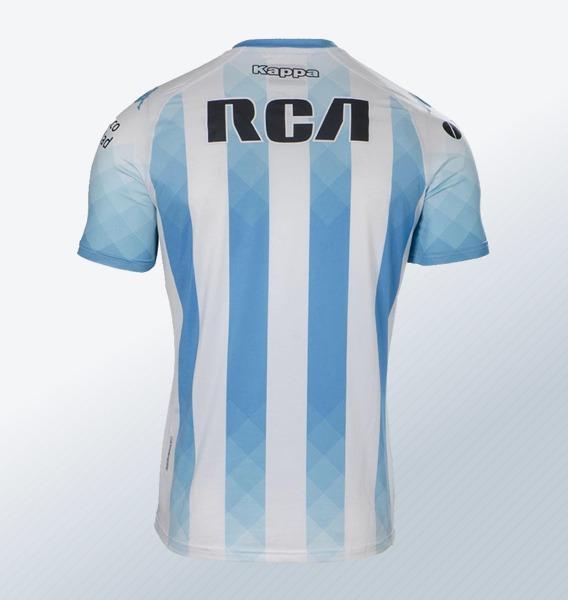 Camiseta titular Kappa de Racing 2019 | Imagen Web Oficial
