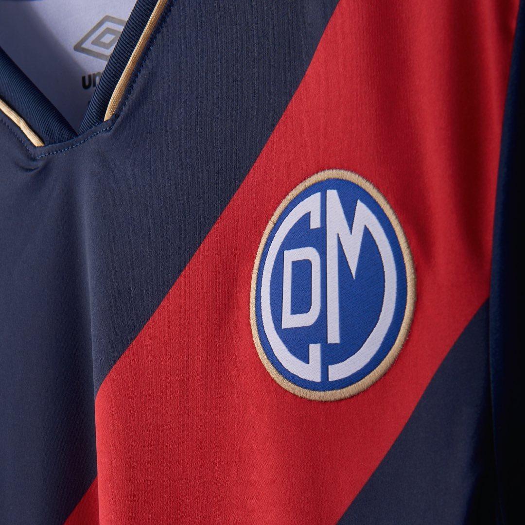 Camiseta suplente del Deportivo Municipal | Imagen Umbro