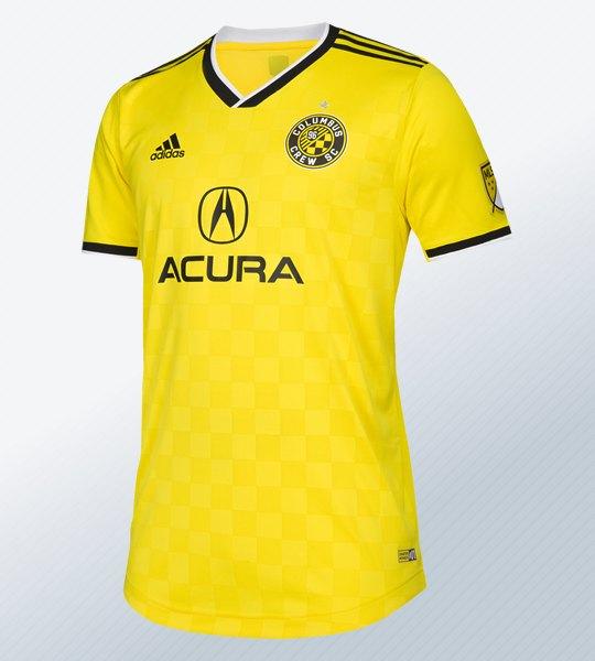 Camiseta titular Adidas del Columbus Crew 2018/19 | Imagen Web Oficial