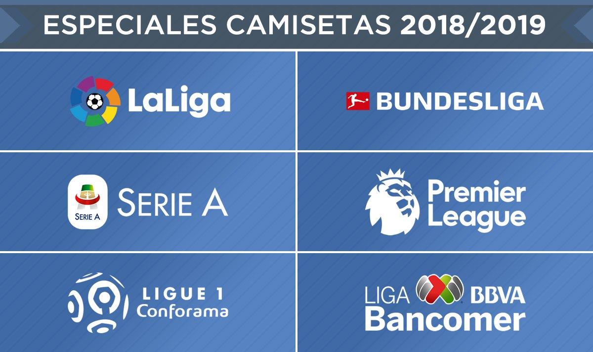 Camisetas de la Temporada 2018/2019 - Especiales