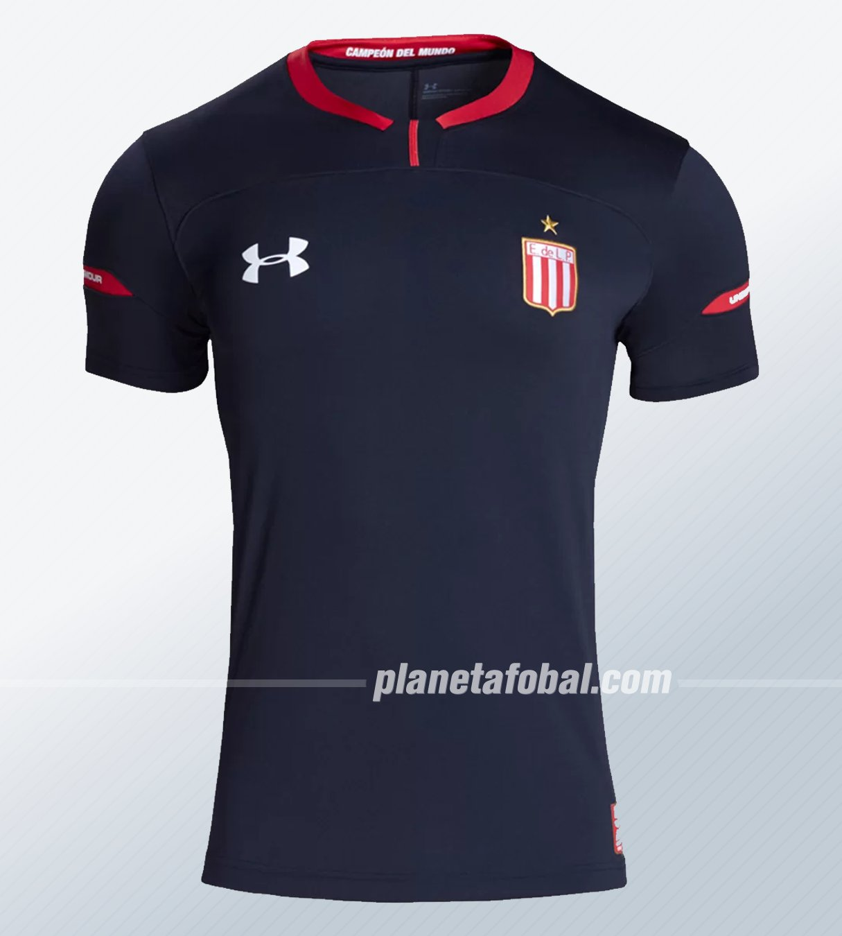 Camiseta suplente Under Armour de Estudiantes LP 2019