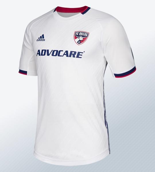 Camiseta suplente Adidas del FC Dallas 2019/20 | Imagen Web Oficial
