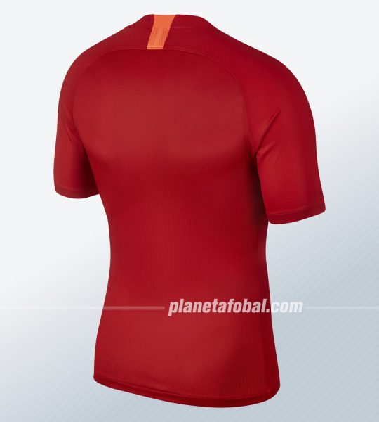 Camiseta titular del Guangzhou Evergrande 2019 | Imagen Nike
