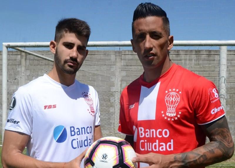 Camisetas TBS de Huracán Copa Libertadores 2019 | Imagen Web Oficial