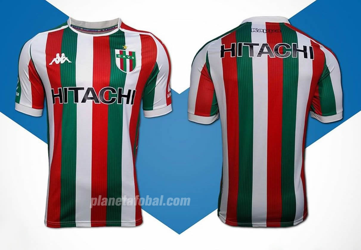 Camiseta tricolor italiana Kappa de Vélez 2019 | Imagen Web Oficial