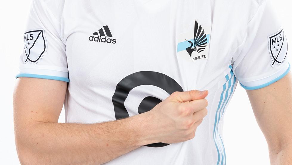 Camiseta suplente Adidas del Minnesota United 2019/20 | Imagen Web Oficial