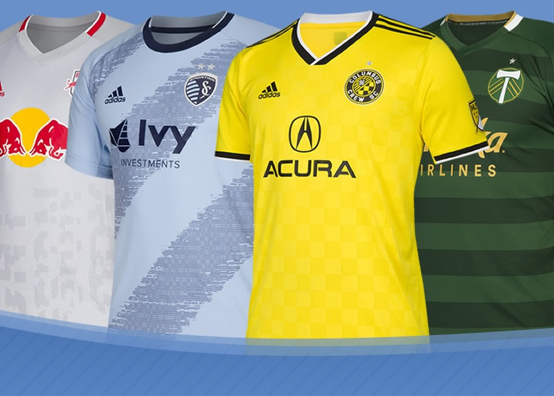 Las camisetas de la Major League Soccer 2019 | @planetafobal