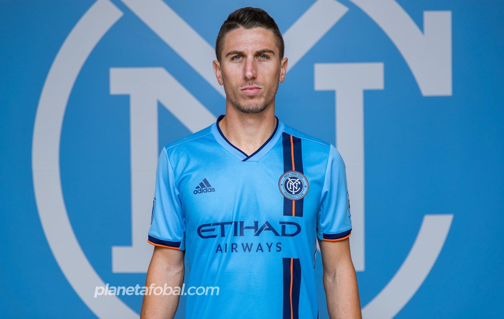 Camiseta titular Adidas del New York City 2019/20   Imagen Web Oficial