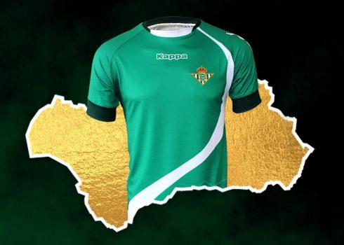 Camiseta Kappa del Betis Homenaje a Andalucía 2019 | Imagen Web Oficial