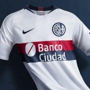 Camiseta suplente Nike de San Lorenzo 2019   Imagen Twitter Oficial