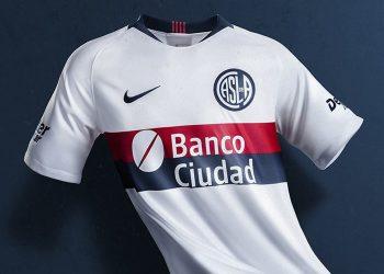 Camiseta suplente Nike de San Lorenzo 2019 | Imagen Twitter Oficial