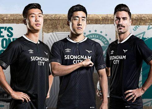 Camisetas del Seongnam FC 2019   Imagen Umbro