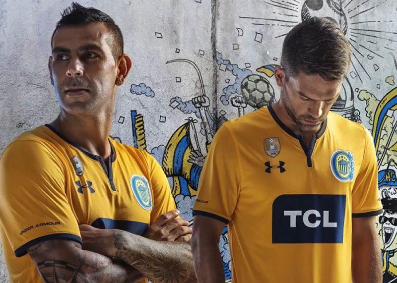 Camiseta suplente Under Armour de Rosario Central 2019 | Imagen Web Oficial