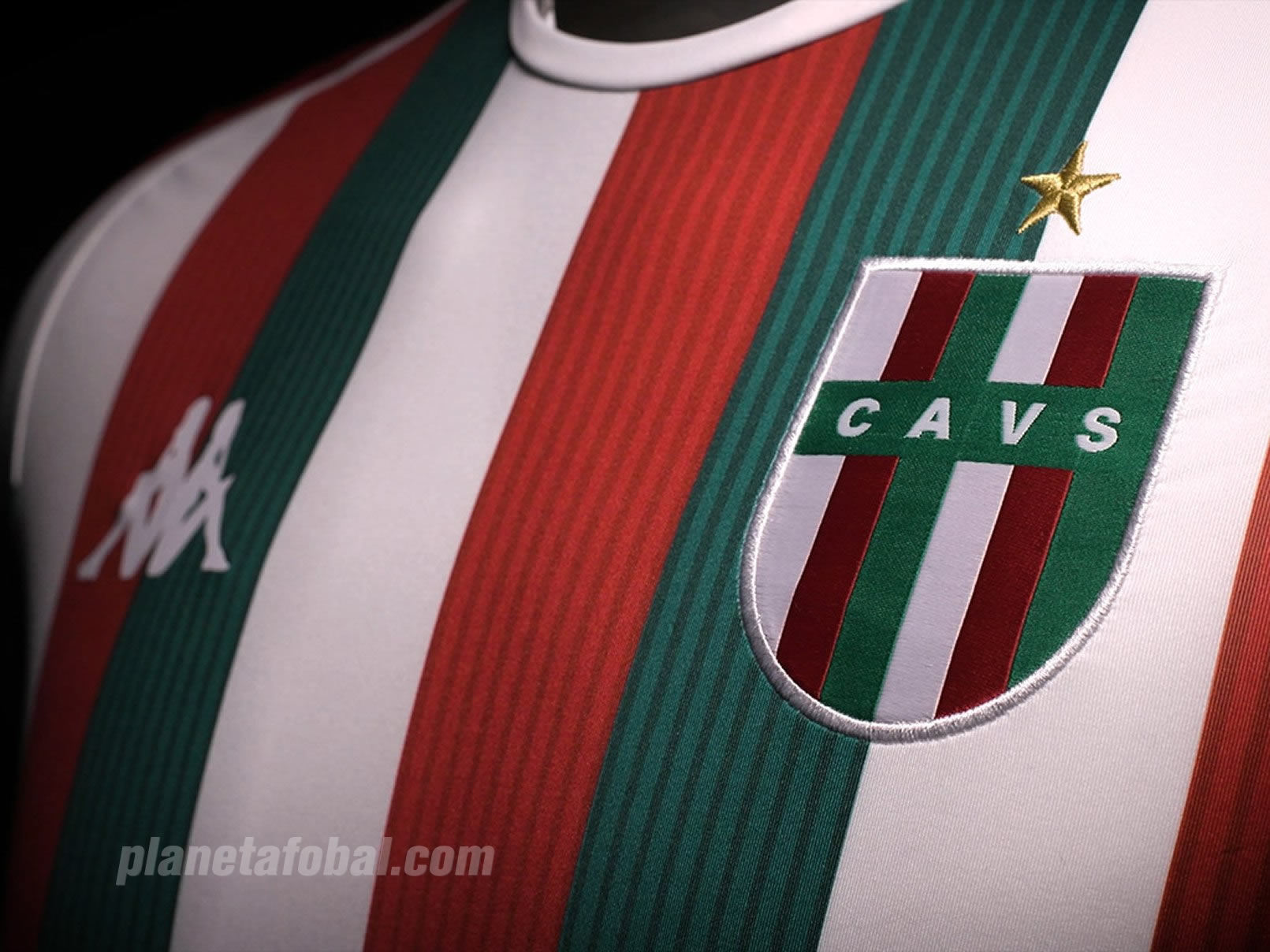 Camiseta tricolor italiana Kappa de Vélez 2019 | Captura Video