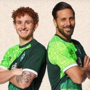 Camiseta Umbro del Werder Bremen 120 Aniversario   Imagen Web Oficial