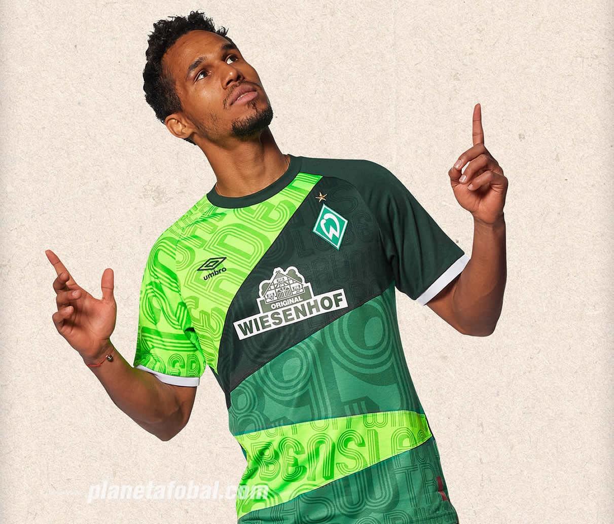 Camiseta Umbro del Werder Bremen 120 Aniversario | Imagen Web Oficial