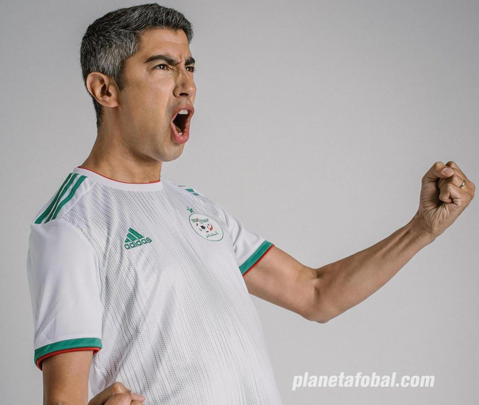 Camisetas Adidas de Argelia 2019 | Imagen Twitter Smaïl Bouabdellah