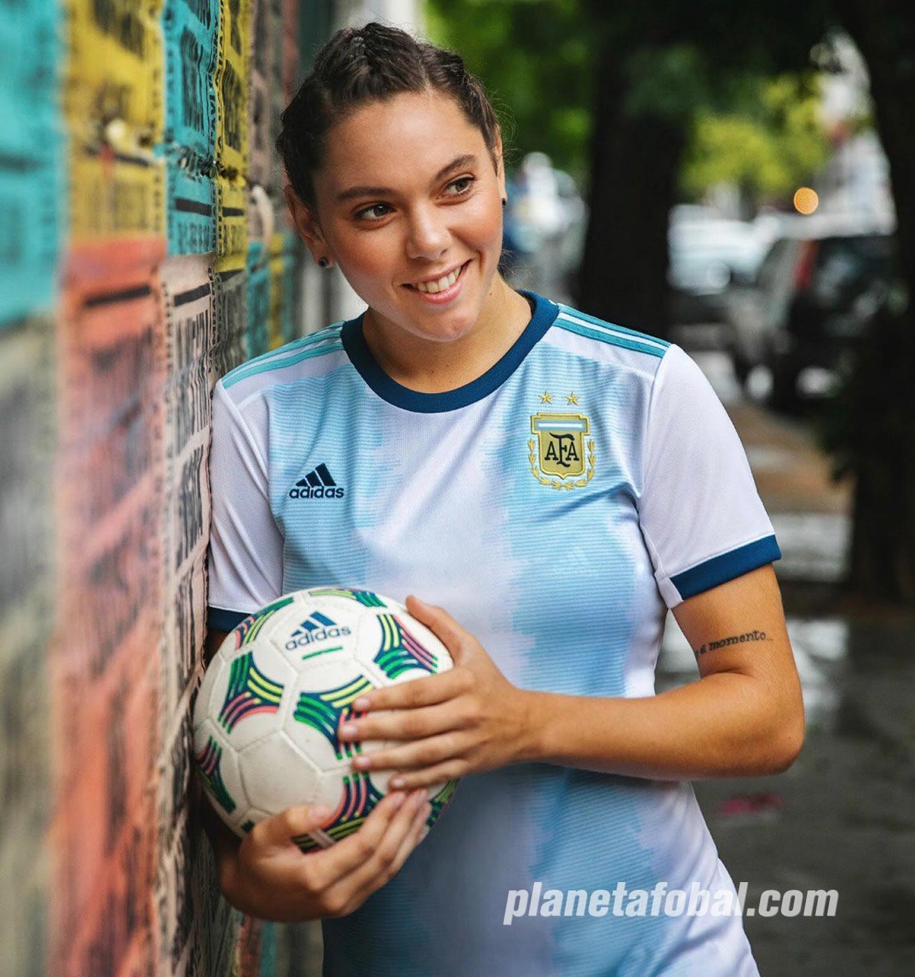 Camiseta Adidas de Argentina Mundial 2019 | Imagen AFA