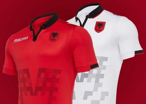 Camisetas de Albania 2019/2020 | Imagen Macron