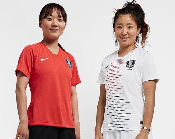 Camisetas de Corea del Sur Mundial Femenino 2019 | Imágenes Nike