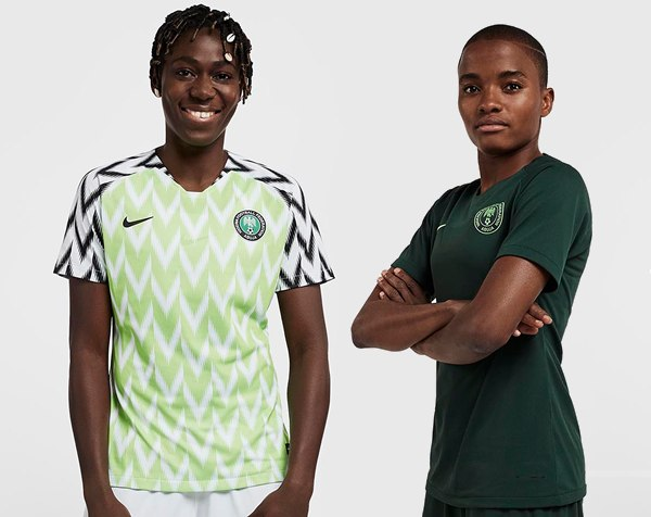 Camisetas de Nigeria Mundial Femenino 2019 | Imágenes Nike
