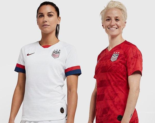 Camisetas de Estados Unidos Mundial Femenino 2019 | Imágenes Nike
