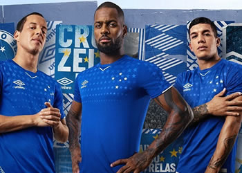 Camiseta titular Umbro del Cruzeiro 2019 | Imagen Twitter Oficial