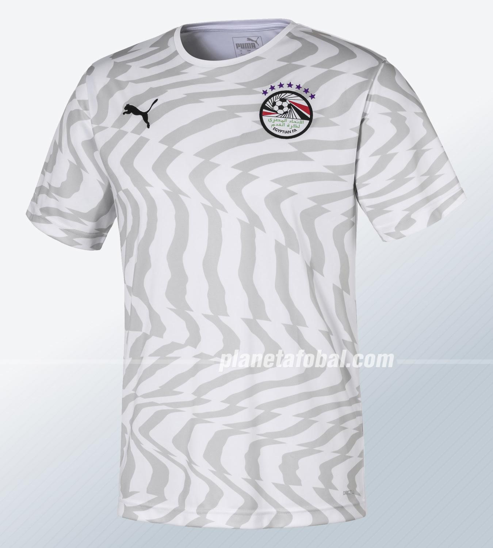 Camiseta suplente Puma de Egipto 2019 | Imagen Twitter EFA