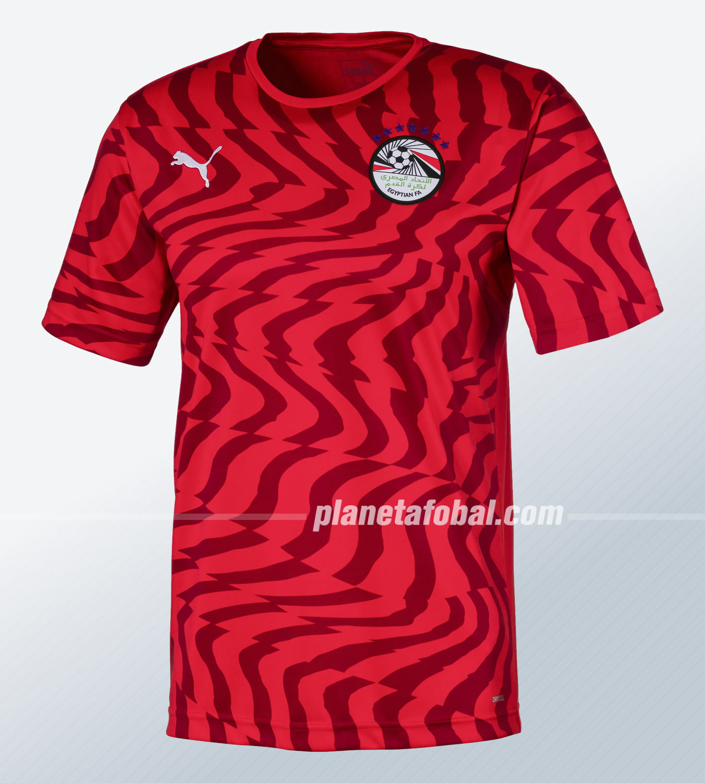 Camiseta titular Puma de Egipto 2019 | Imagen Twitter EFA