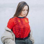 Camiseta titular de España Mundial 2019 | Imagen Adidas