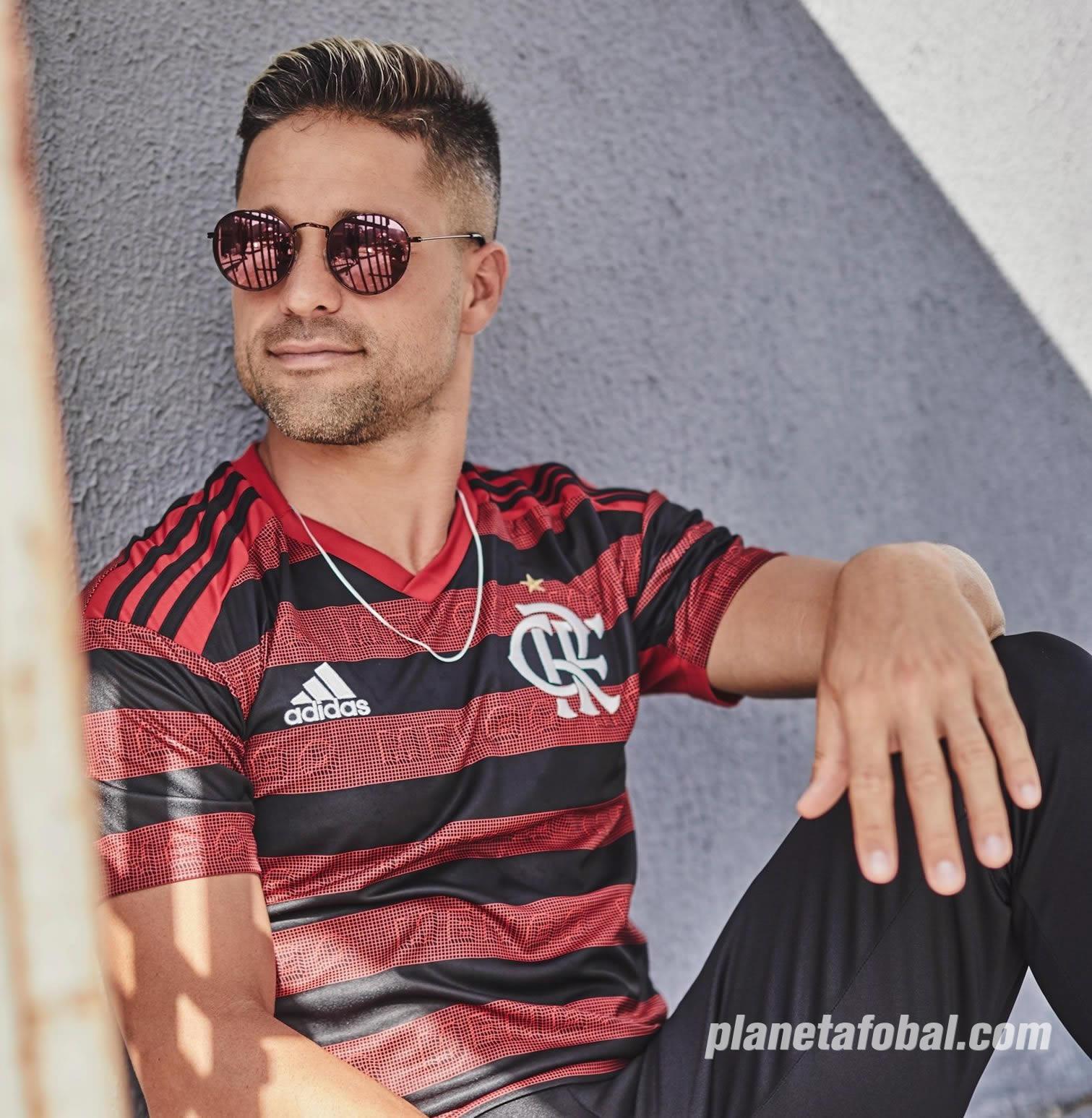 Camiseta Adidas del Flamengo 2019 | Imagen Twitter Oficial