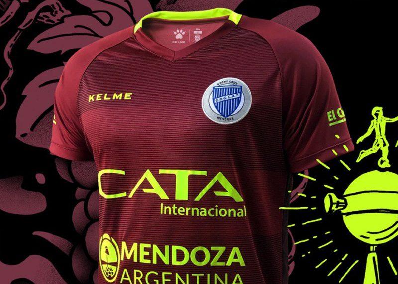 Tercera camiseta Kelme de Godoy Cruz 2019 | Imagen Twitter Oficial